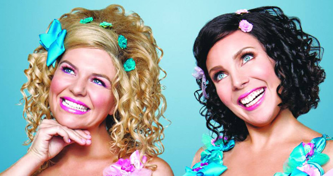 Casey Wilson and June Diane Raphael in 'Ass Backwards'