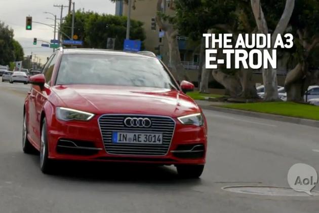 【字幕付きビデオ】アウディ初の市販プラグインハイブリッド、「A3 e-tron」の魅力に迫る!