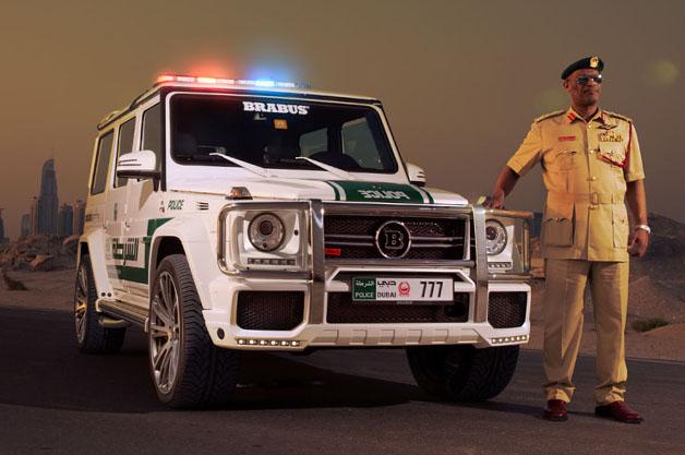 Brabus G-Class Dubai police car