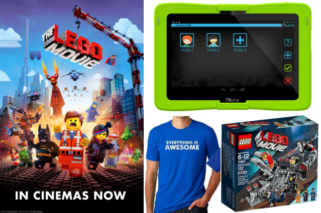 WIN a Kurio 10S tablet and The LEGO Movie merchandise!