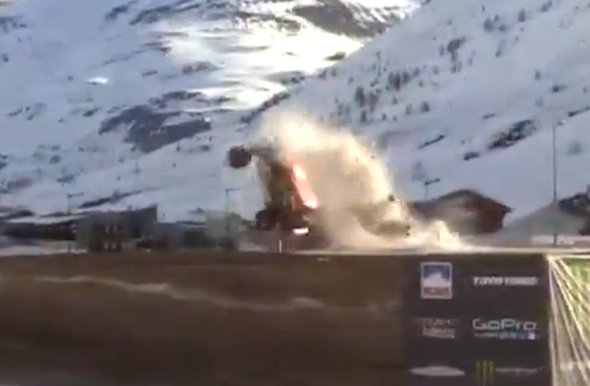 Chicherit crash