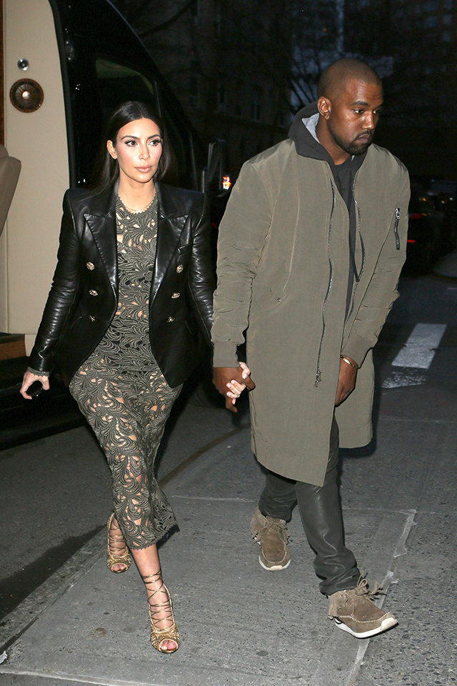kim kardashian and kanye west meet anna wintour for dinner