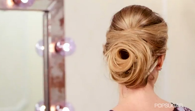 Upgrade to a Rose Bun for your Holiday Parties