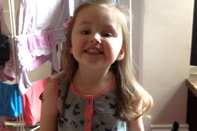 Lydia Bishop, strangled on first day at nursery