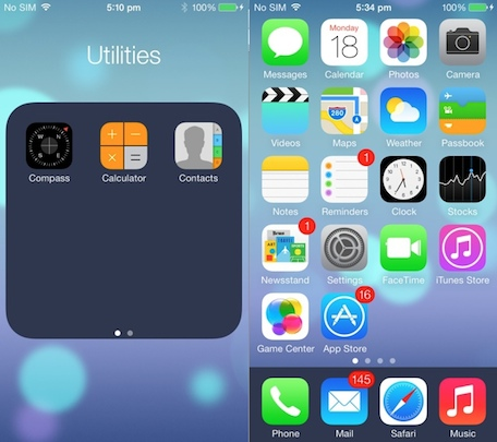 darken colors ios7