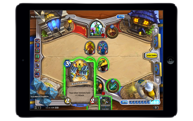 Hearthstone on iPad