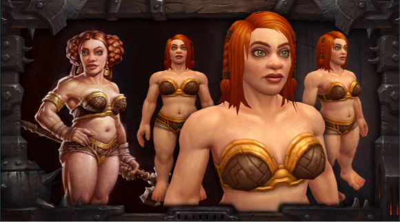New dwarf female models
