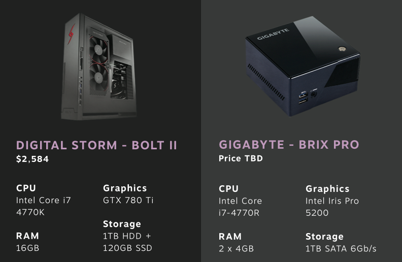 Estas son las Steam Machines que Valve ha traído al CES