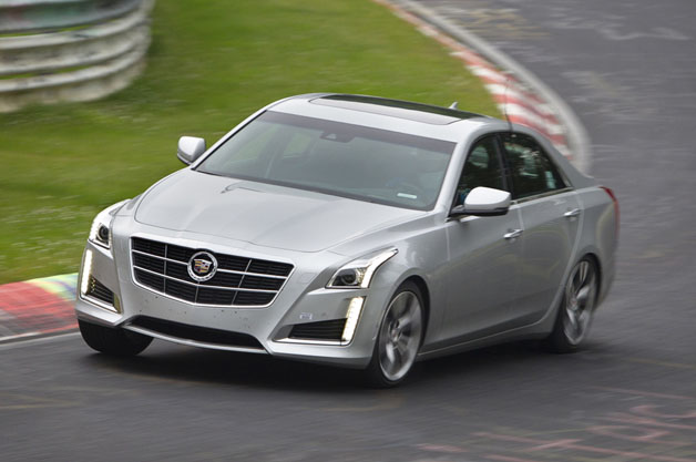 Cadillac CTS Vsport at the Nürburgring