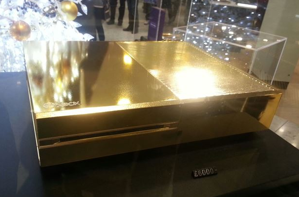 Have $10,000 Lying Around? Here, Buy This Gold-Plated Xbox