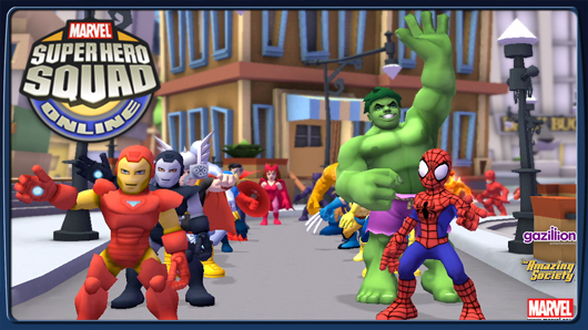 The Stream Team: An eight year old's view of Super Hero Squad Online