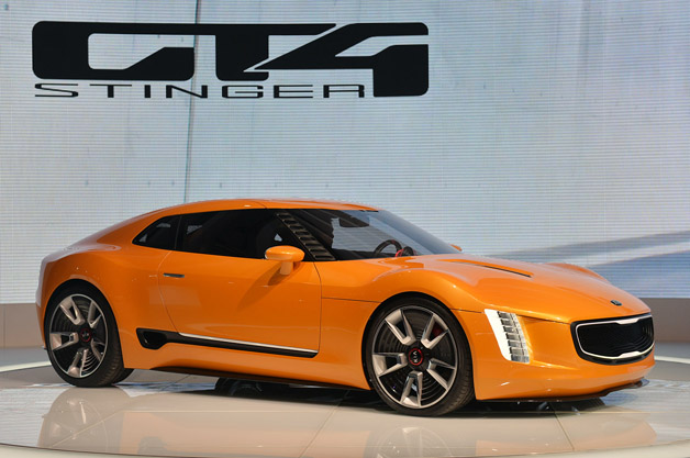 kia gt4 stinger concept may be closer to production than you think. Black Bedroom Furniture Sets. Home Design Ideas