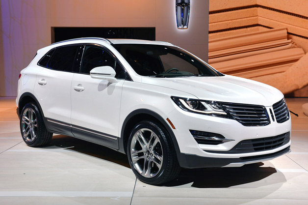 2015 Lincoln MKC at Los Angeles Auto Show
