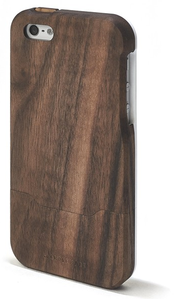iPhone 5/5s case, maple, wood