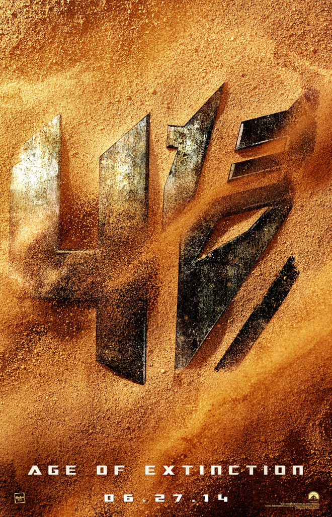 'Transformers: Age of Extinction' poster