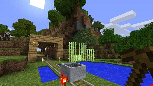 Minecraft video demonstrates world customization update