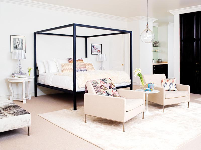 glam decor ideas from rachel zoe s bedroom