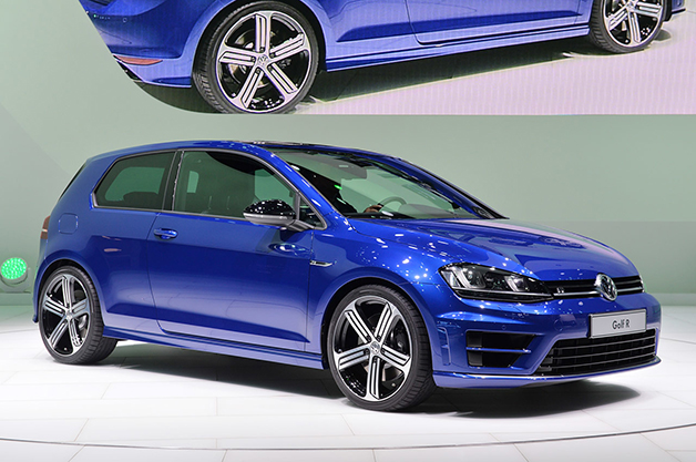 2015 Volkswagen Golf R at the 2014 Detroit Auto Show