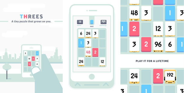 Threes! Cheats And Tips For iPhone And iPad