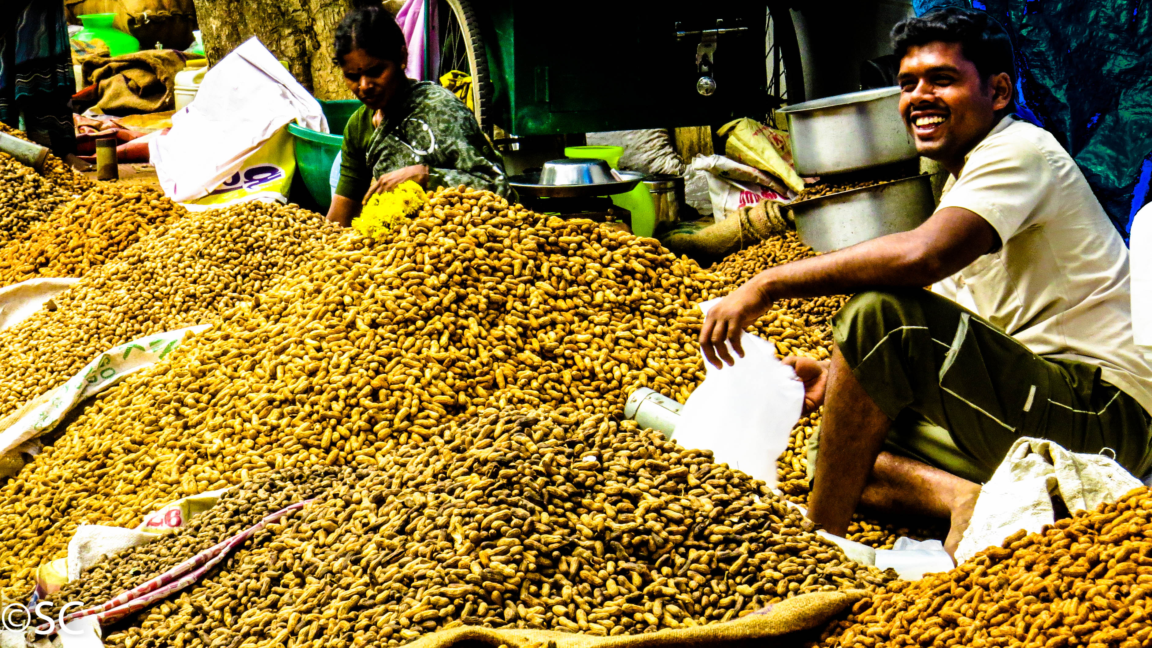 kadlekai parishe aka the groundnuts fair in india by sujay simha