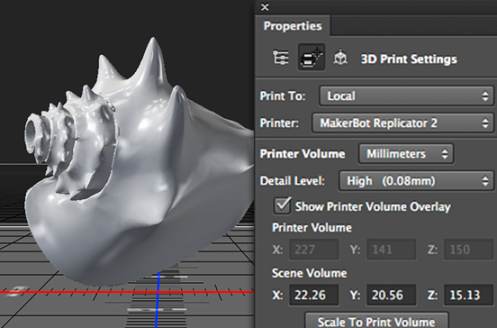 Adobe adds 3D printing tools to Photoshop CC, MakerBot and Shapeways support in tow