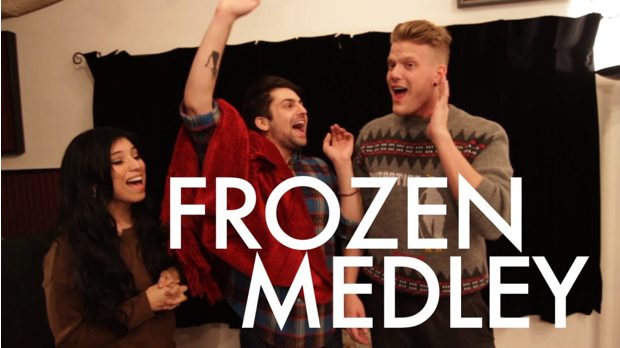 Superfuit and Kirstie Maldonado Frozen Medley Pentatonix