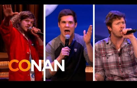 Workaholics on Conan O'Brien best friends song