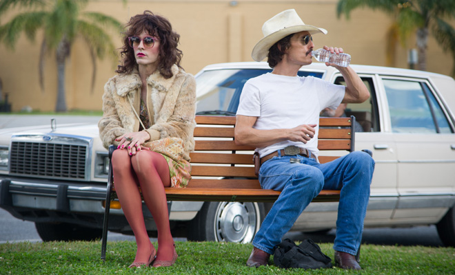 Jared Leto and Matthew McConaughey in 'Dallas Buyers Club'