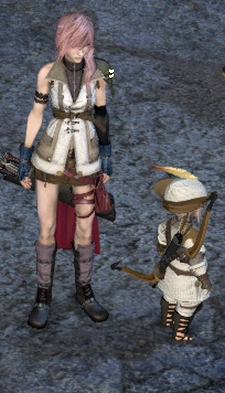 Her impressions of Eorzea are like 80% particle effects.