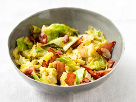 Sauteed Cabbage and Bacon