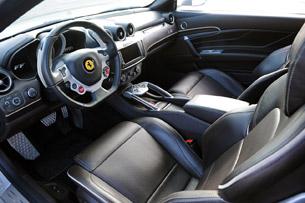 2013 Ferrari FF interior