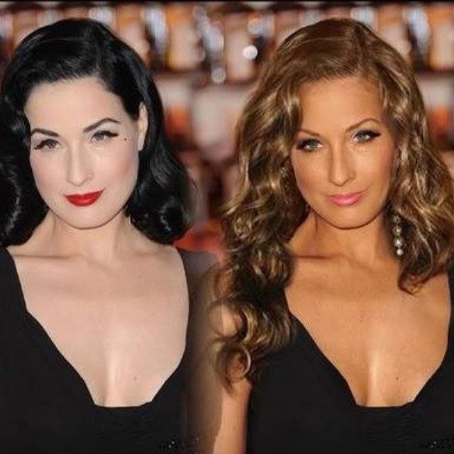 dita von teese gets dramatic photoshop makeover on instagram