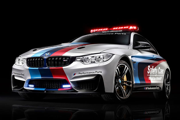 BMW unleases new M4 as MotoGP safety car