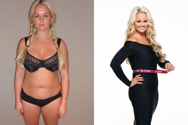 Jennifer Ellison shows off weight loss
