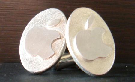 apple cufflinks