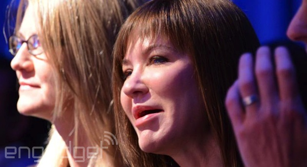 Microsoft's Julie Larson-Green at the Surface 2 event