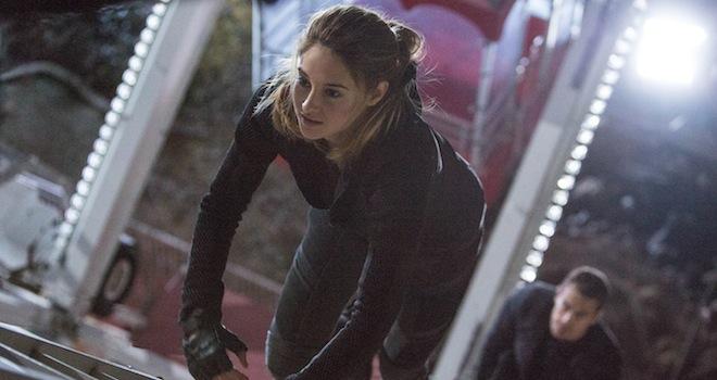 Weekend Box Office Divergent 1