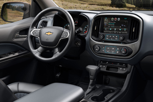 2015 Chevy Colorado interior
