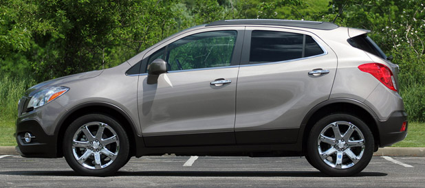 2013 Buick Encore side view
