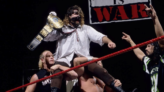 WWE, Heavyweight Champion, Mankind