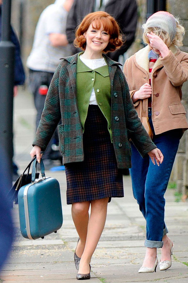 Sheridan Smith Gets A 1960s Makeover And Looks Like A