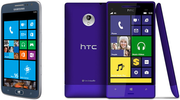 Samsung ATIV S Neo and HTC 8XT for Sprint