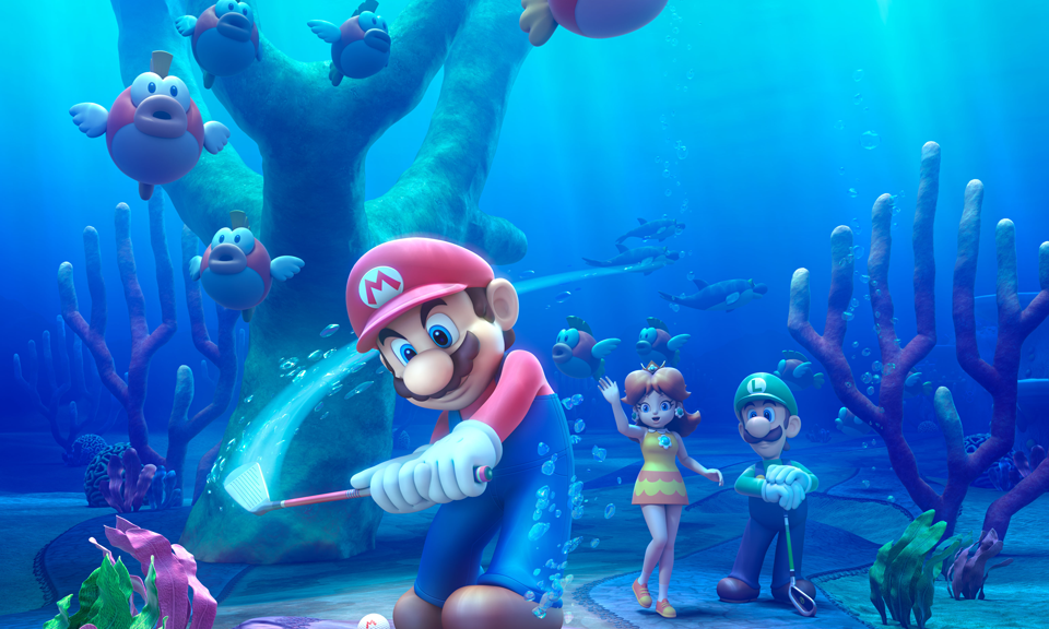 mario golf world tour cheep cheep lagoon New Mario Golf: World Tour Trailer Released