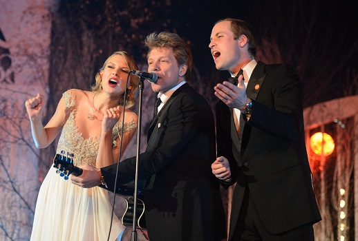 Taylor Swift Bon Jovi Prince William
