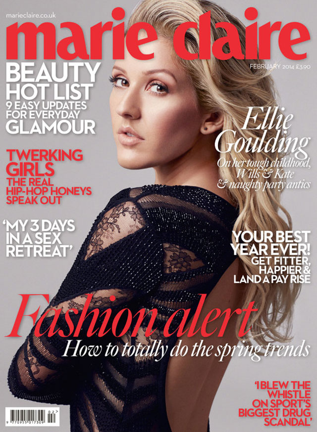 ellie goulding for marie claire