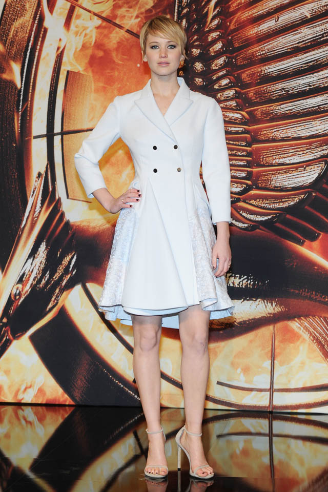 German premiere of the film 'The Hunger Games: Catching Fire' at Sony Centre  Featuring: Jennifer Lawrence Where: Berlin, Germany When: 12 Nov 2013 Credit: WENN.com  **Not available for publication in France, Germany, Austria and Switzerland. Available for internet use worldwide.**