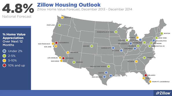 Zillow 2013 Q4 map