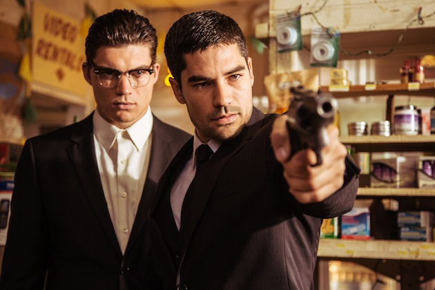 D.J. Cotrona as Seth Gecko Zane Holtz as Richie Gecko From the El Rey Network Original