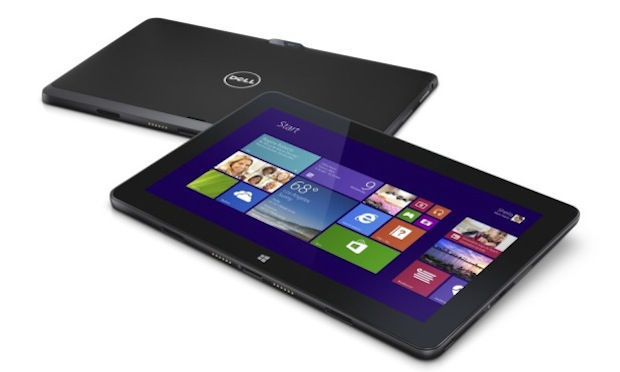 Two Dell Pro 11 Windows 8.1 11-inch tablet computers