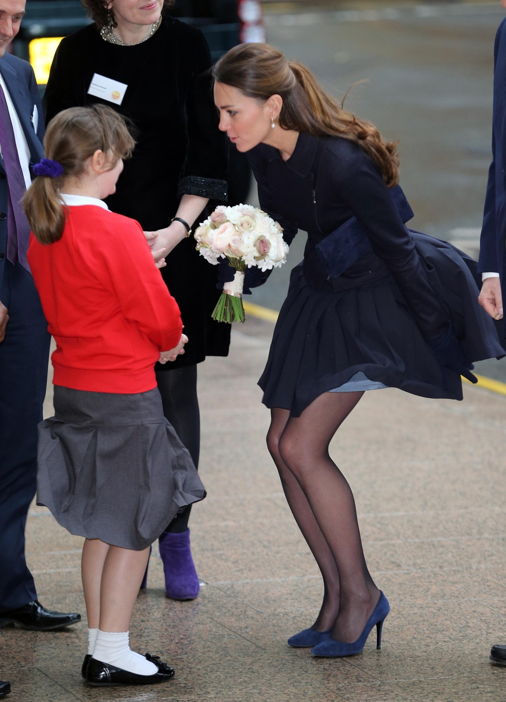 109016, LONDON, UNITED KINGDOM - Wednesday November 20, 2013. The Duchess of Cambridge seen leaving a forum for the charity Place2Be in London. **UK, FRANCE, AUS, NZ, CHINA, HONG KONG & TAIWAN OUT** Photograph: ? i-Images, PacificCoastNews**FEE MUST BE AGREED PRIOR TO USAGE** **E-TABLET/IPAD & MOBILE PHONE APP PUBLISHING REQUIRES ADDITIONAL FEES** LOS ANGELES OFFICE: +1 310 822 0419 LONDON OFFICE: +44 20 8090 4079
